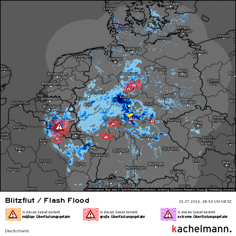 Wetter Online Ticker