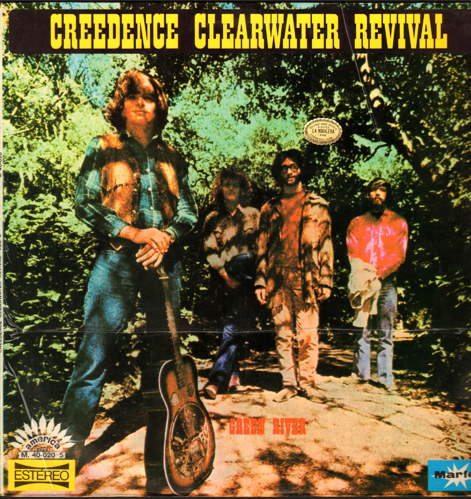 Creedence Clearwater Revival Lp Green River 1969