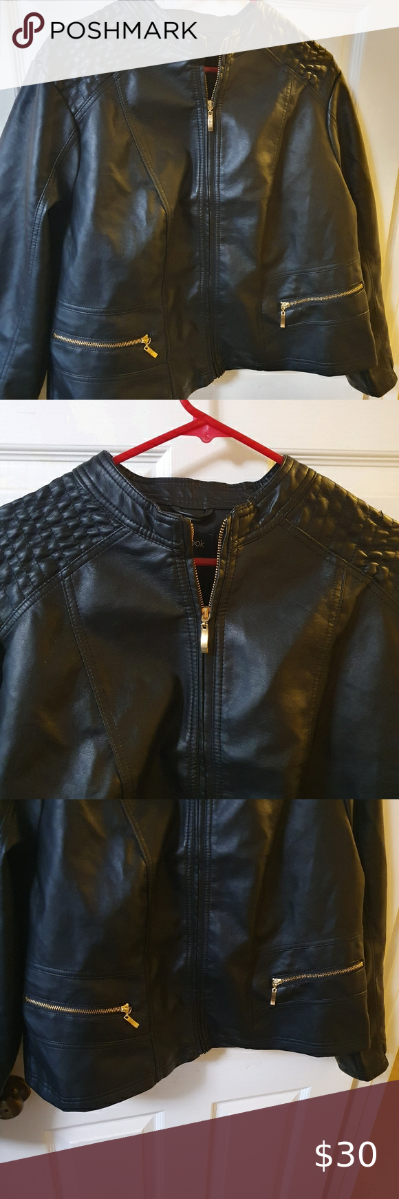 New Look Faux Leather Jacket Leather Jacket New Look Leather Jacket New Look Jackets [ 1740 x 580 Pixel ]