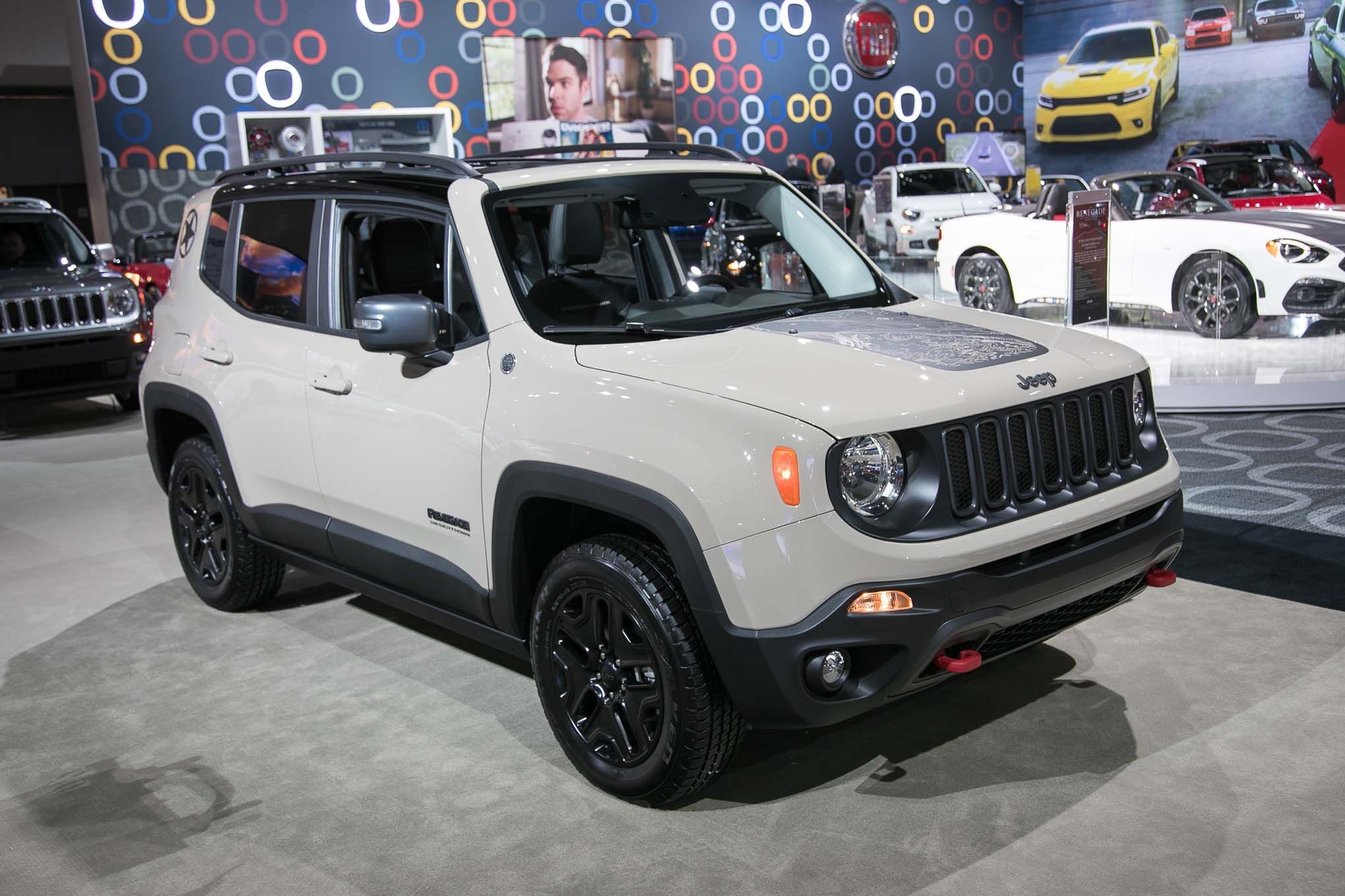 Jeep Renegade Desert Hawk >> New 2017 Jeep Renegade Deserthawk To Debut At L A Auto Show