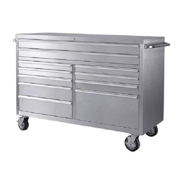 Stainless Steel 11 Drawer Roll Away