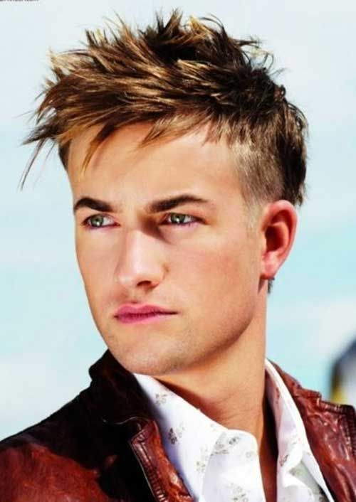 25 Best Short Spiky Haircuts For Guys 01剪髮設計 Spiky Hairstyle