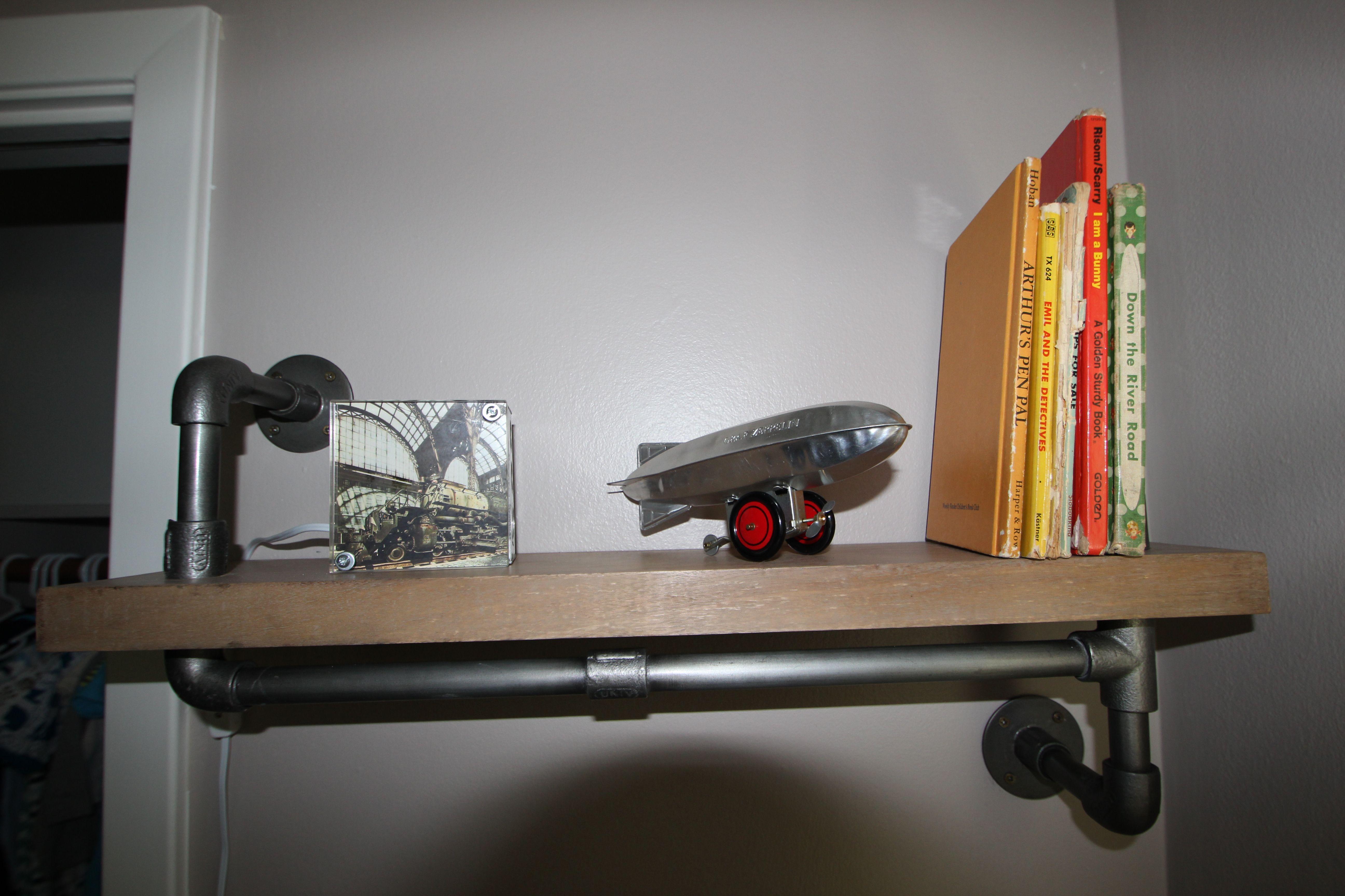 hanging chair restoration hardware kids swivel desk finished nursery industrial shelf from