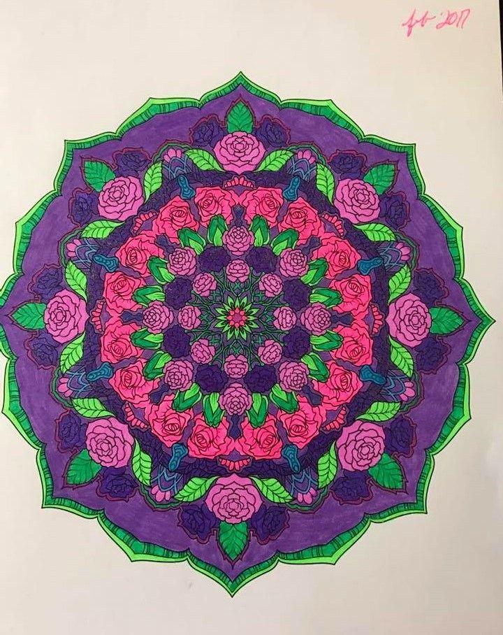 ColorIt Mandalas Volume 2 Colorist: Debbie Seddell #adultcoloring #coloringforadults #mandalas #mandalastocolor