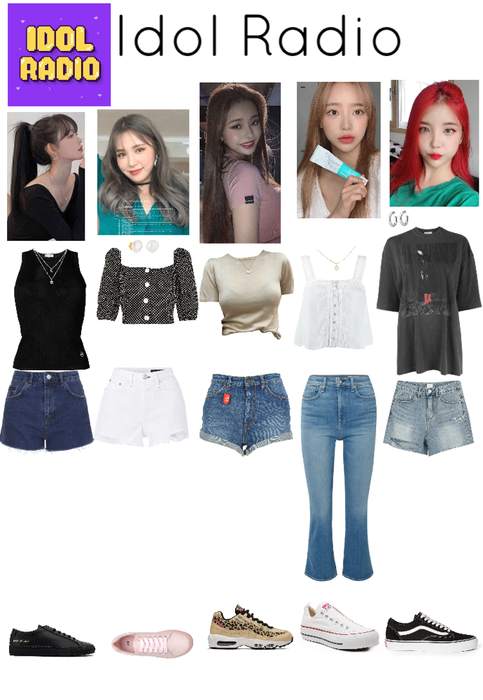 Idol Radio Kpop Fashion Outfits Kpop Fashion Stage Outfits