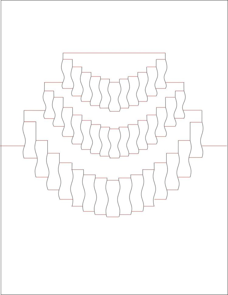 Kirigami Pop up Karte Torte Vorlage ausdrucken #paper #art