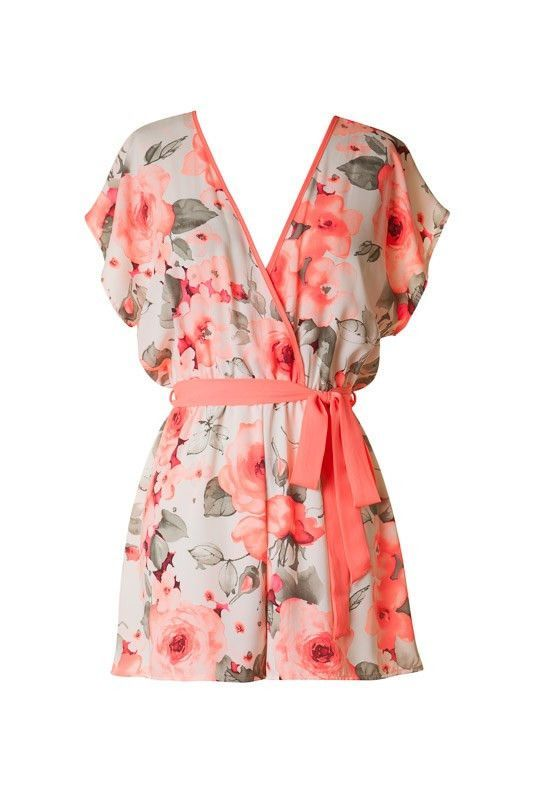 Bright Blooms Romper – Bloom and Snow Boutique