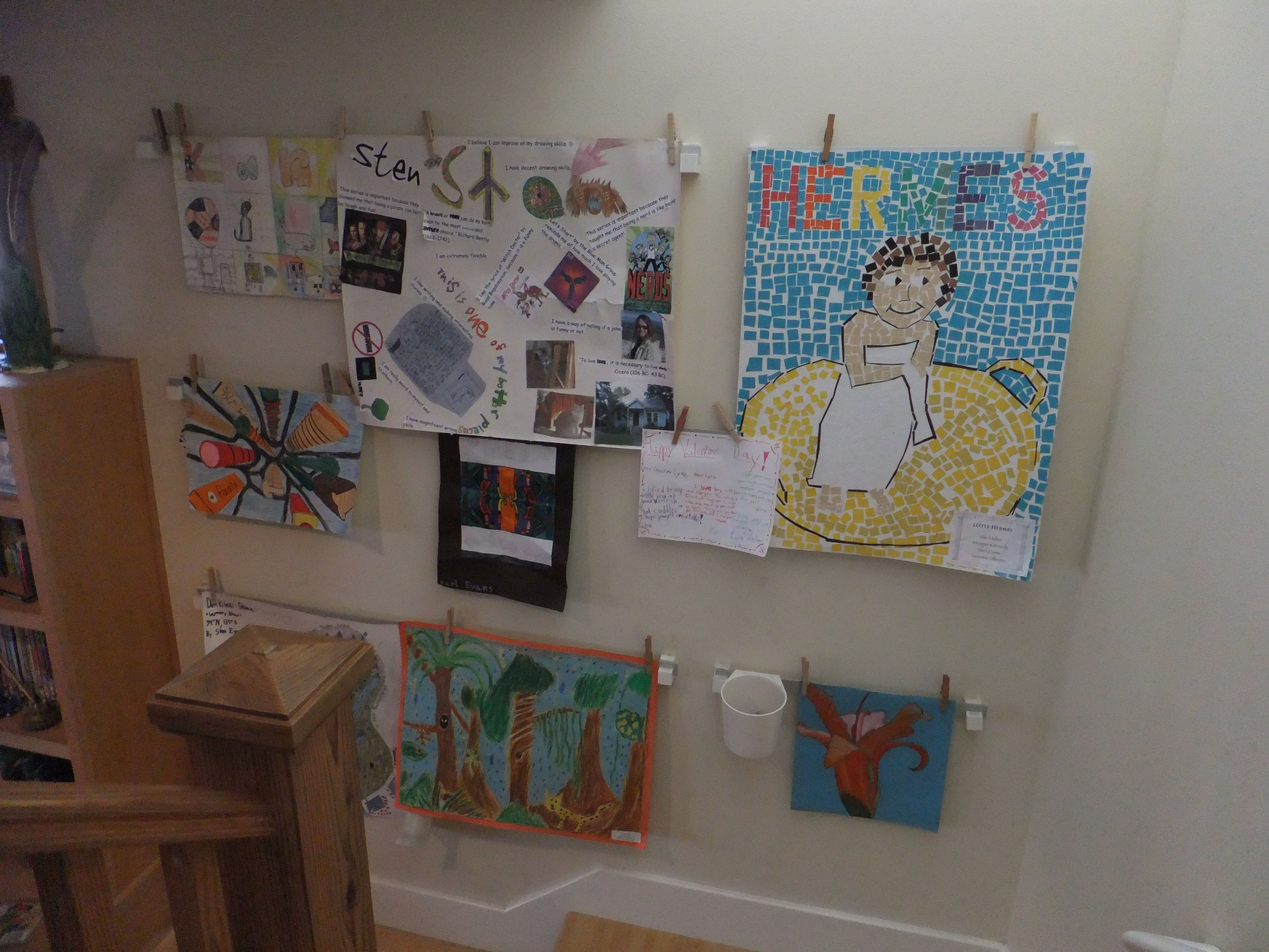 Wall Art Home Hardware : Art wall changes as new is created we got the