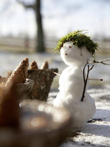 handmade outdoor christmas decor small snowman moos hair Het jaar - outdoor snowman christmas decorations