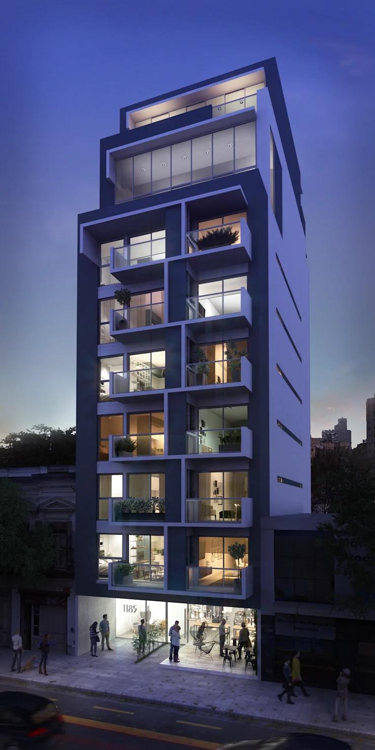 Arquitectura Casas Escaleras Exteriores Arquitectura: Renders Exteriores Tarde Y Noche De Renders + Arquitectura En 2020