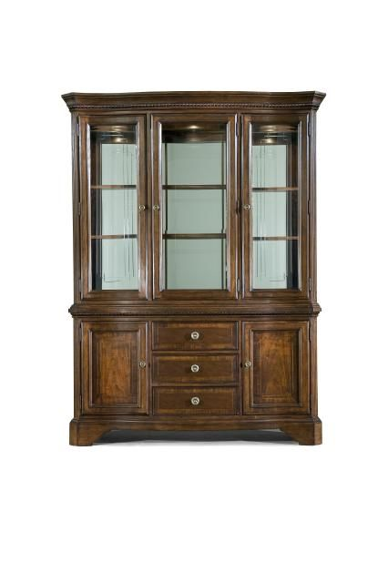Legacy Classic Furniture American Traditions American Traditions Buffet  With Hutch