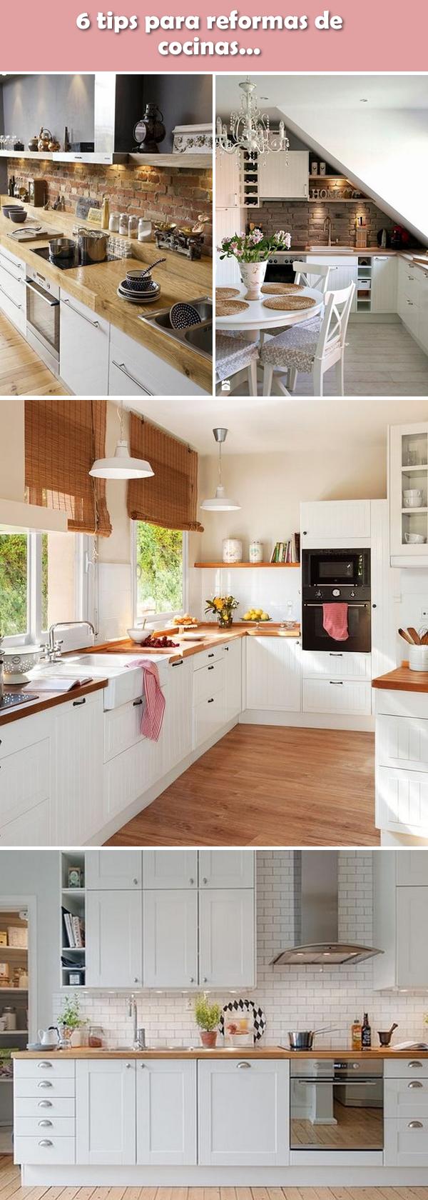 Reformas De Cocinas Claves Para La Reforma De Cocinas Muebles