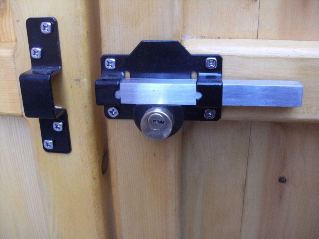 Wooden Garage Door Security Locks Wooden Garage Doors Garage