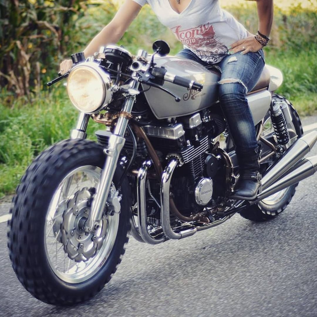 Caferacerpasion Honda CB750 Nighthawk CafeRacer By Iconic Moto Culture TAGS