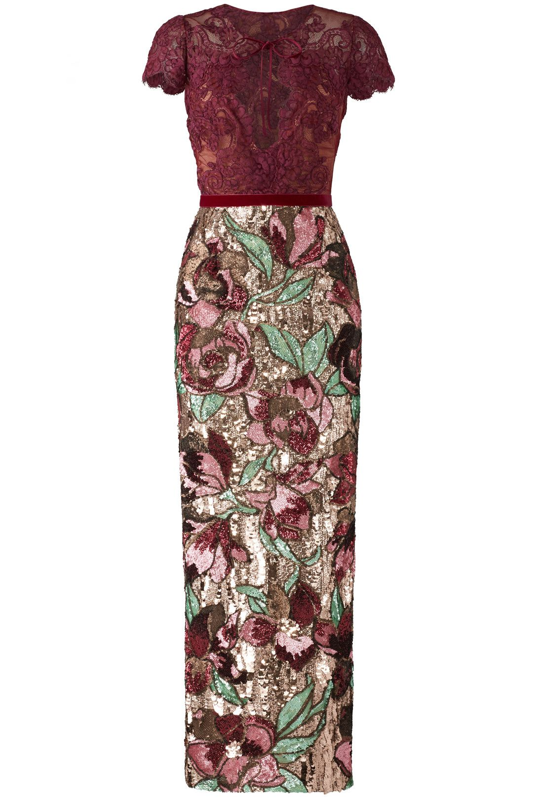 d1097a1dfbcd Artwork Sequin Dress by Marchesa Notte for $130 - $150 | Rent the Runway