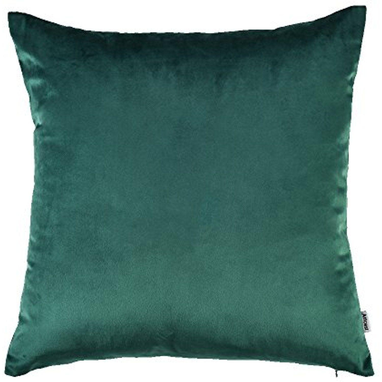 Artcest cozy solid velvet throw pillow case decorative couch cushion