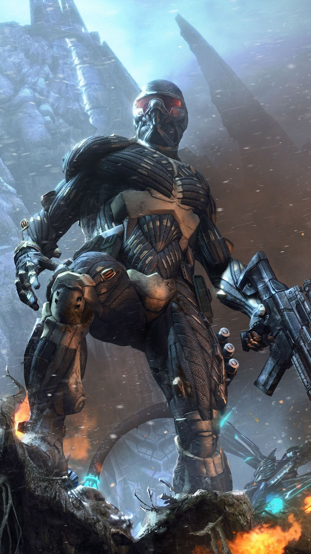 crysis worrior game iphone 6 wallpapers HD Iphone 6