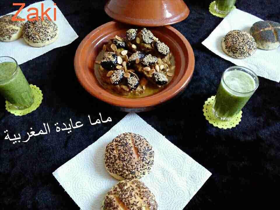 اللحم بالبرقوق الطبق المغربي الشهير ملكة عيد الأضحى زاكي Recipe Main Dishes Dishes Food