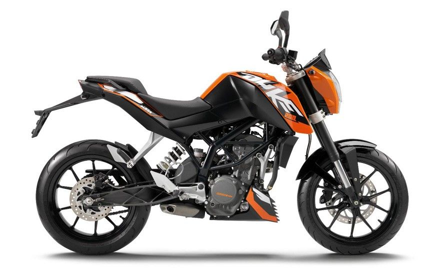 Top 10 Commuter Bikes In Pictures Ktm Duke 200 Ktm 125 Duke