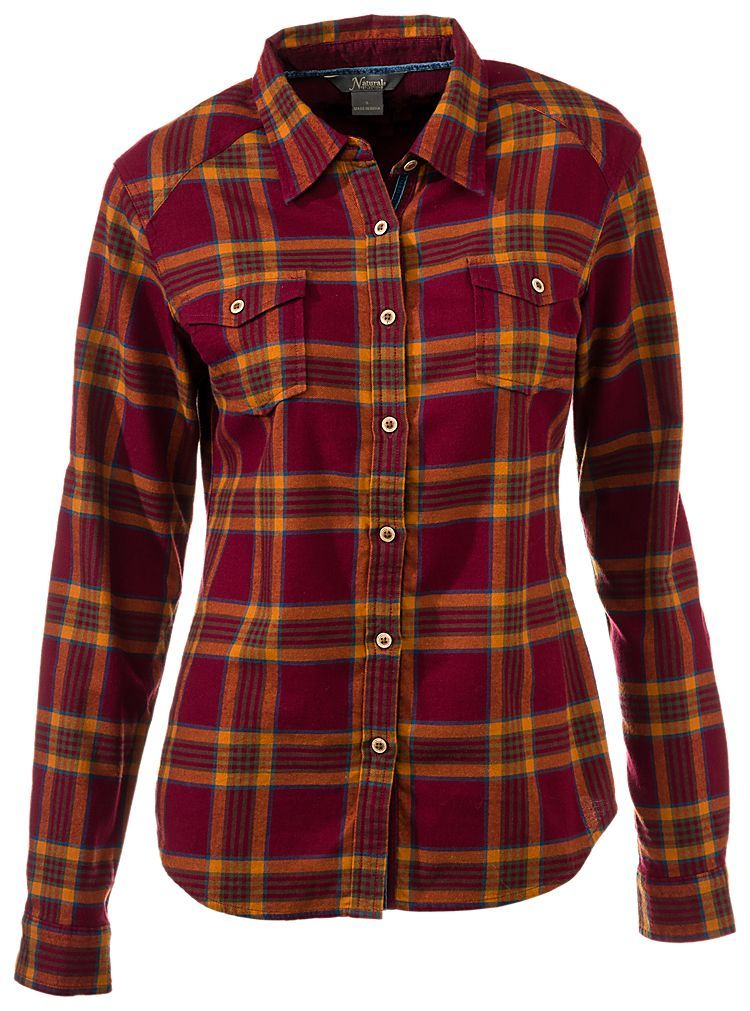 Natural Reflections Plaid Flannel Shirt for Ladies | Bass Pro Shops