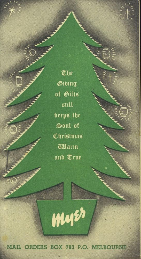 Myer Christmas Gifts Catalogue Booklet Circa 1950 S Gift Catalog Christmas Catalogs Christmas