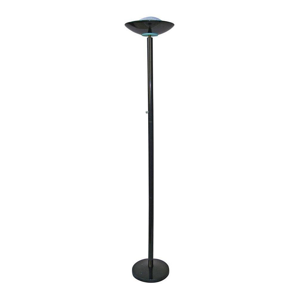 Black halogen torchiere floor lamp afshowcaseprop