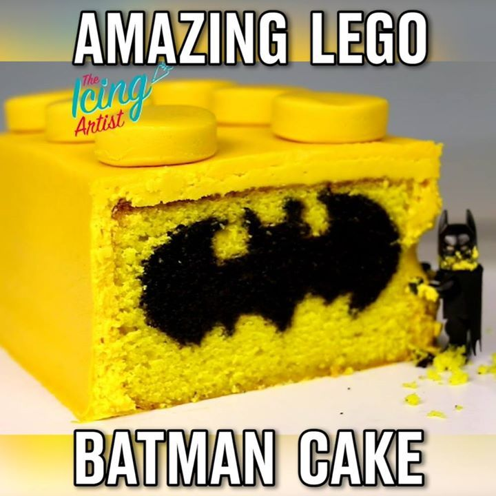 The Icing Artist Lego Batman Cake