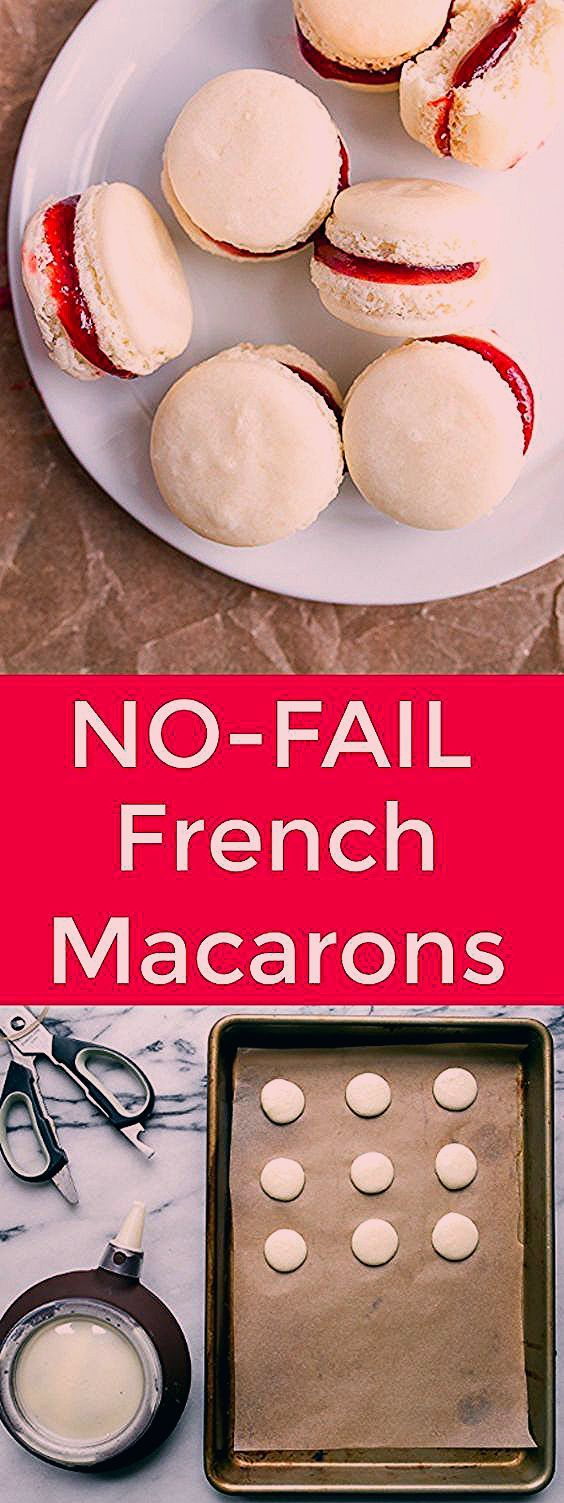 French Macarons (small batch) No Fail Recipe - Dessert for Two