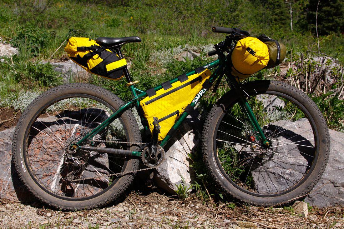 Custom bike packing frame bags and more | Bike, luggage | Pinterest