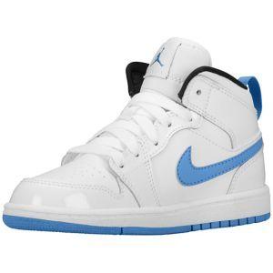 cba42e771b9 Jordan AJ 1 Mid - Boys' Preschool - Shoes | Kids Clothing | Jordans ...