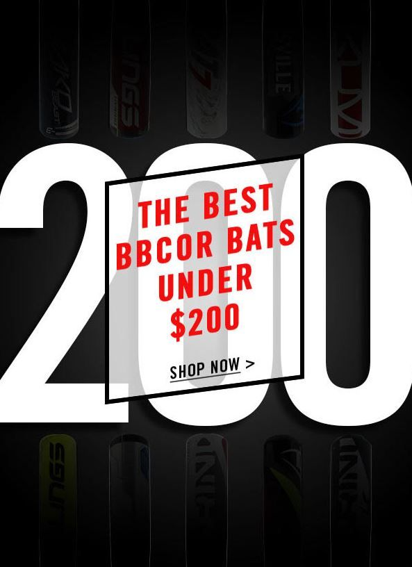 Looking For A Bbcor Baseball Bat That Fits Your Budget The Best Bats Under 200 Dollars With Free Shipping Every Day Only At Justbats