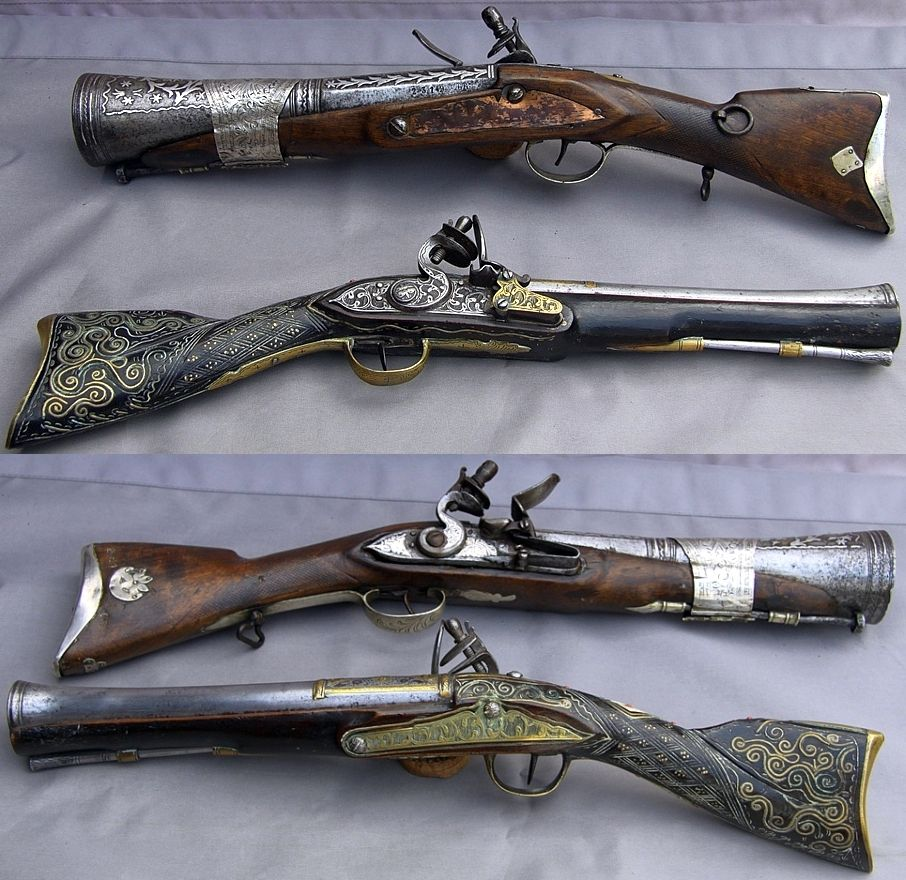 18th Century Pirate Blunderbuss flintlock pistol good for