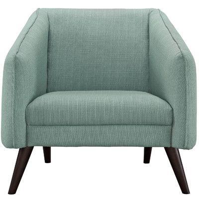 Modway Slide Arm Chair Upholstery: Laguna