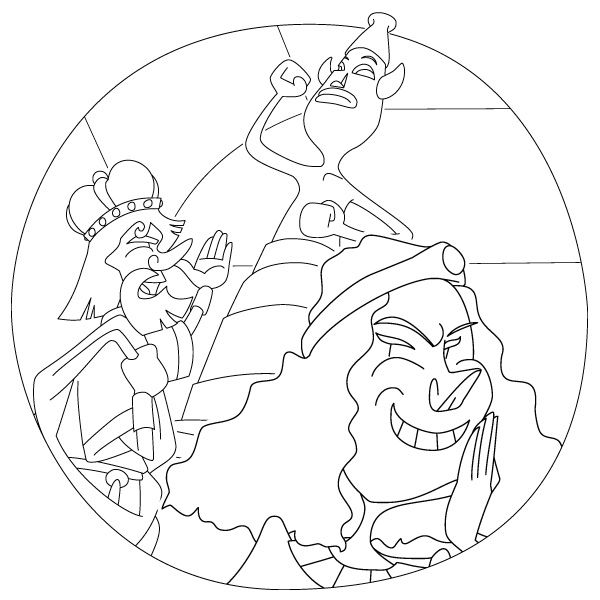 King Ahab And Jezebel Coloring Pages Rehoboam Jeroboam