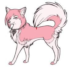 Diva She Wolf Anime Wolf Cartoon Wolf Animal Drawings