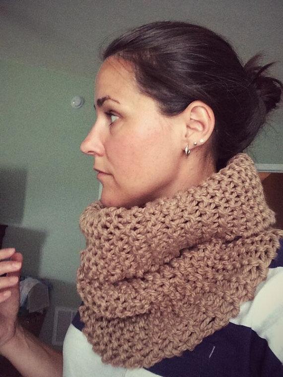 Beginner Knit Pattern, Outlander Inspired Cowl Pattern ...