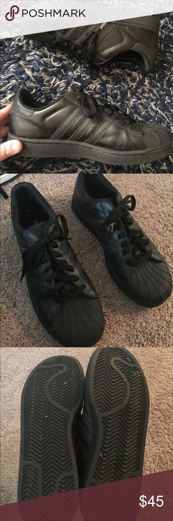 nero superstar adidas scarpe adidas scarpe, scarpe e lacing