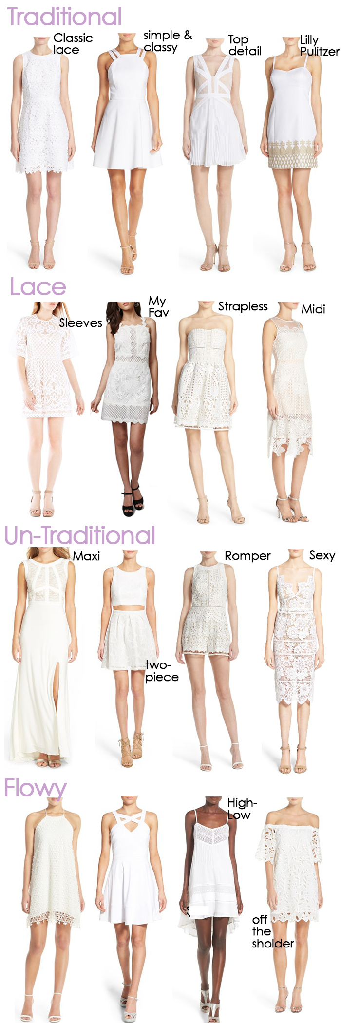 Perfect White Dresses For Graduation Or Wedding Events Stylish Sassy Classy White Dresses Graduation Graduation Outfit Graduation Dress College [ 2100 x 700 Pixel ]