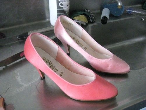 Tutorial How To Dye Fabric Shoes Wedding