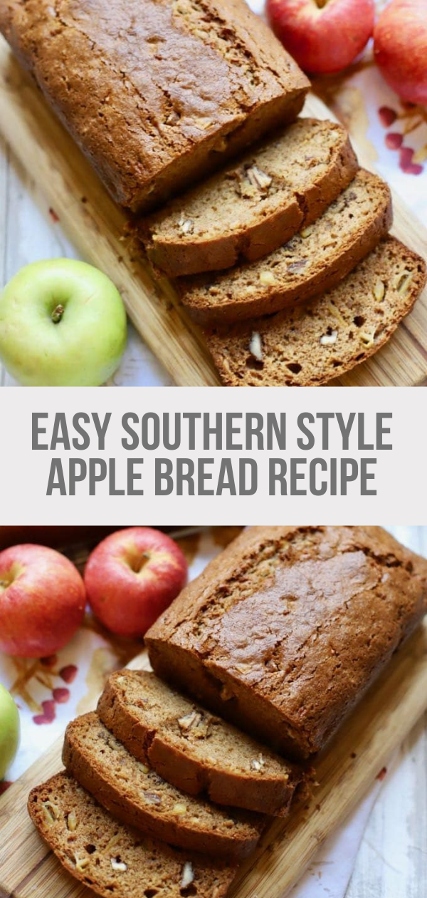 Easy Southern Style Apple Bread images