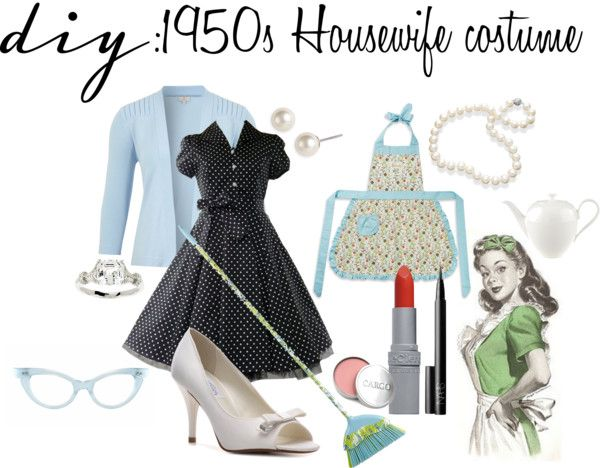 Diy 1950s Housewife Costume By Theekissoflife On Polyvore