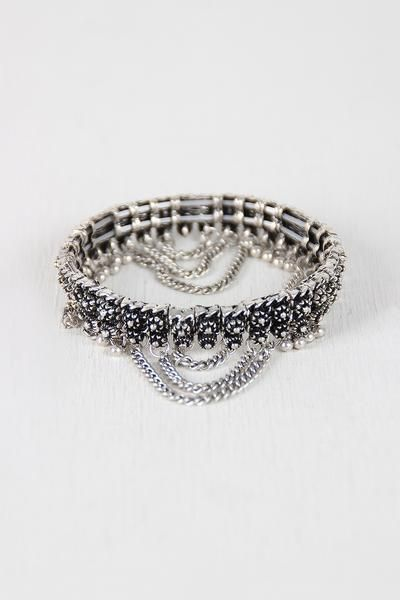 Aztec Princess Stretch Bracelet $ 23.00