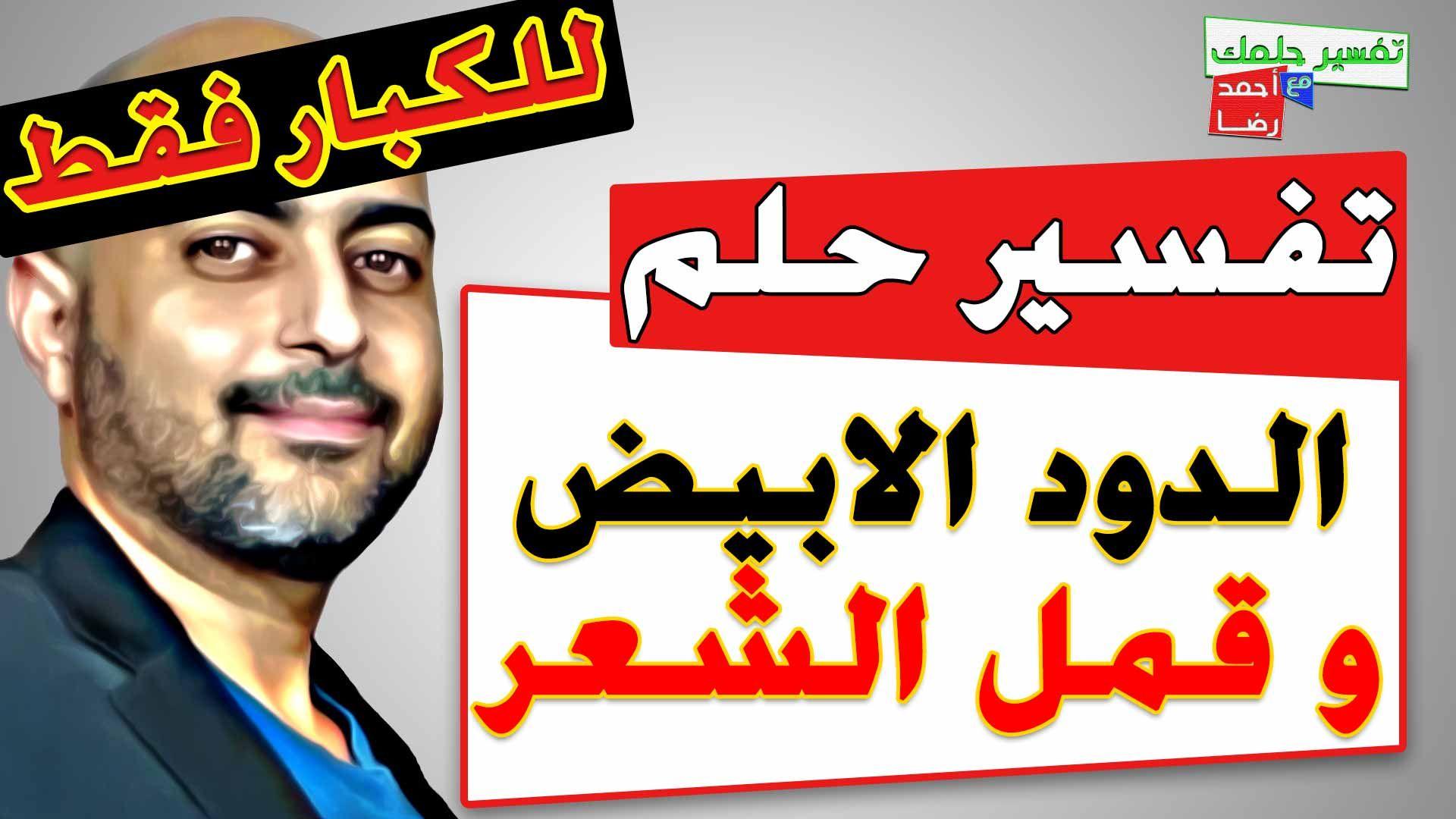 تفسير حلم رؤية الدود الابيض في المنام و قمل الشعر و اسبابه للكبارفقط In 2021