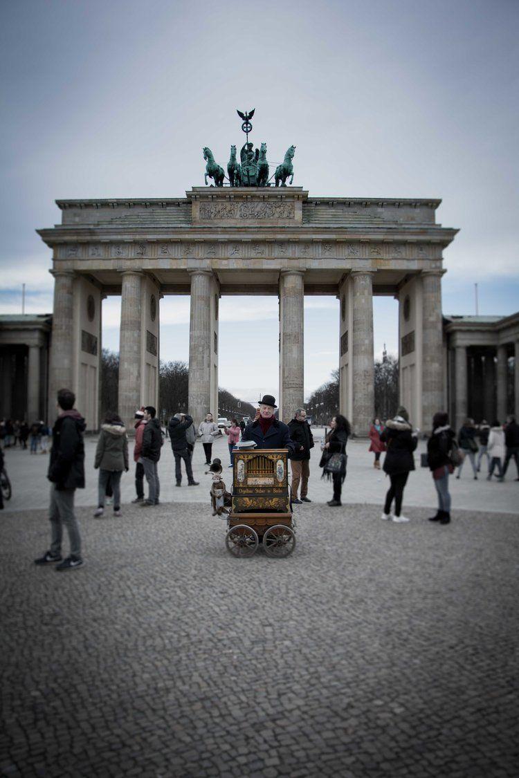 Berlin en familia. Puerta de Brandeburgo