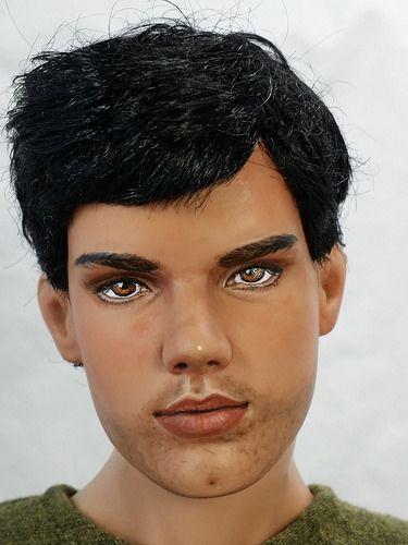 Jacob (Taylor Lautner) Black Repaint by Bordello Dolls