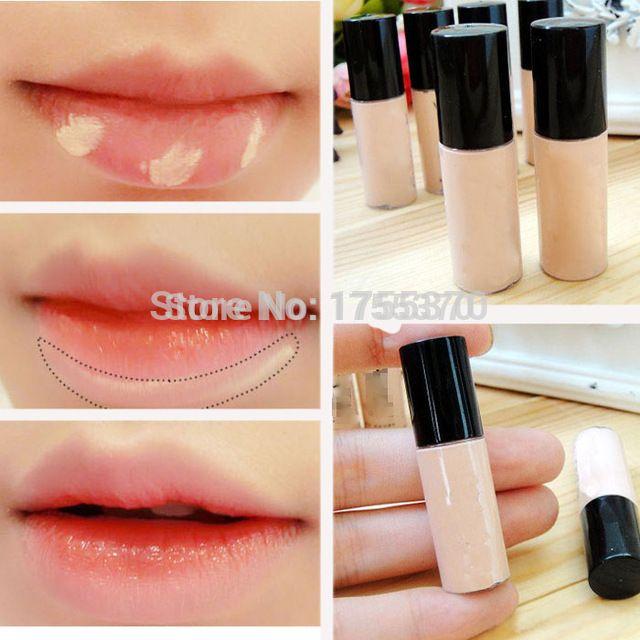 Hide Blemish Silky Liquid Cream Concealer Lip Dark Eye Circle Cover Concealer Stick Long Lasting Moisture