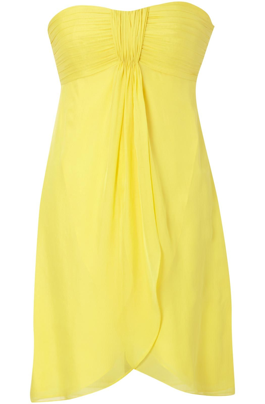 Yellow summer bridesmaid dresses quality of this dress would