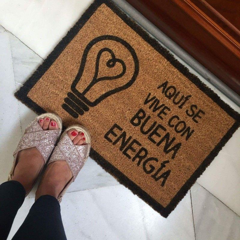 Felpudo Buena Energía