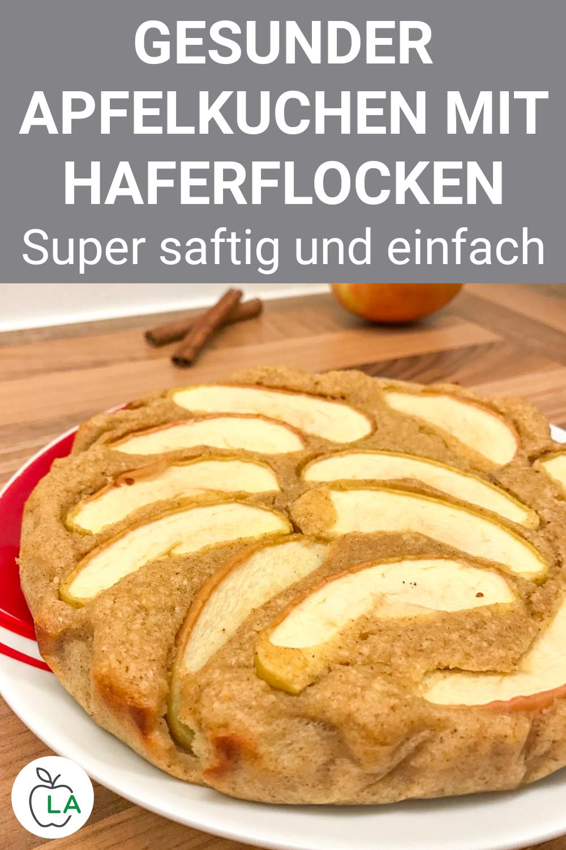 Schneller Apfelkuchen – Rezept für Kuchen ohne Zucker