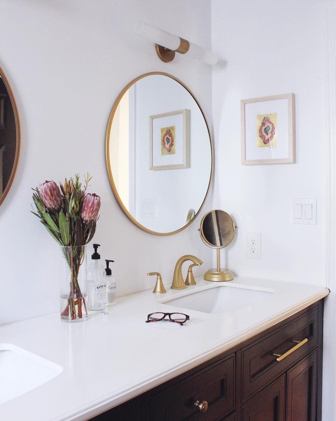 George Kovacs Light Used In Bathroom Of Goldalamode Soften The Look Of Your Bathroom Lighting Wh Bathroom Light Fixtures Led Bathroom Lights Bathroom Lighting George kovacs bathroom lighting